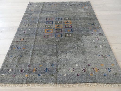 Authentic Persian Hand Knotted Gabbeh Rug Size: 238 x 200cm