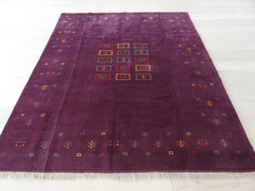 Authentic Persian Hand Knotted Gabbeh Rug Size: 203 x 237cm