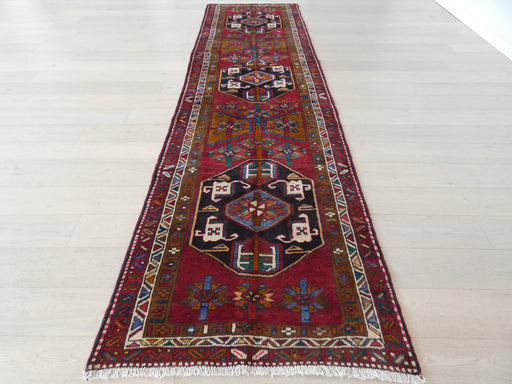 Persian Hand Knotted Ardabil Hallway Runner Size: 110 x 389cm