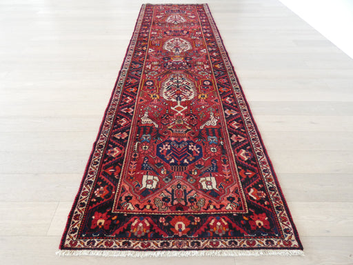 Persian Hand Knotted Bakhtiari Rug Size: 121 x 418cm