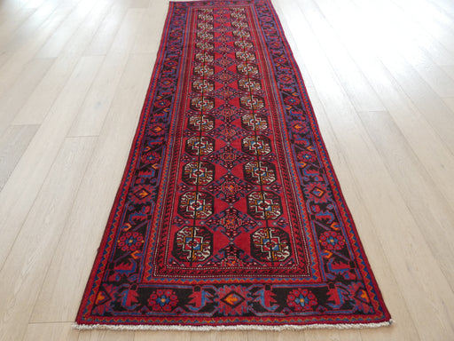 Persian Hand Knotted Turkman Rug Size: 300 x 105cm