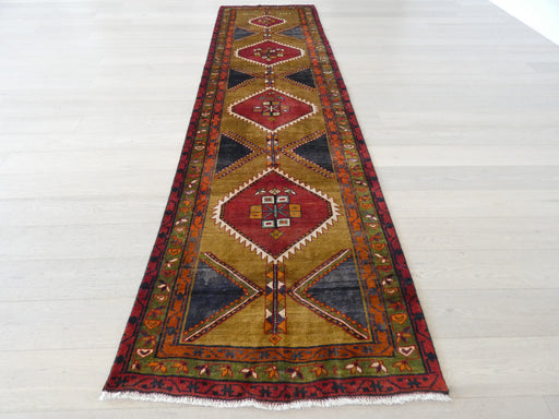 Persian Hand Knotted Dated Ardabil Hallway Runner Size: 105 x 398cm