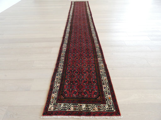 Persian Hand Knotted Hamadan Hallway Runner Size: 77 x 487cm