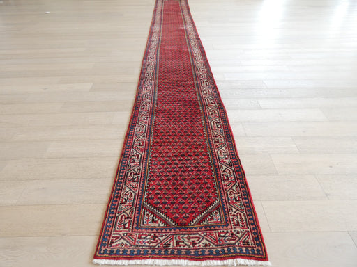 Persian Hand Made Boteh Mir Runner Size: 85 x 660cm