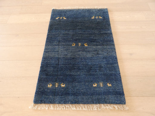 Authentic Persian Hand Knotted Gabbeh Rug Size: 125 x 80cm