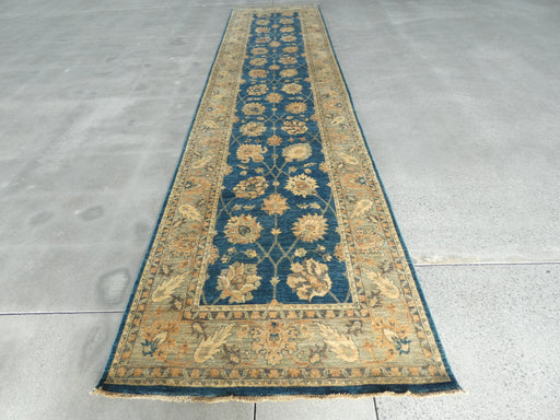 Afghan Hand Knotted Choubi Hallway Runner Size: 503 x 121cm
