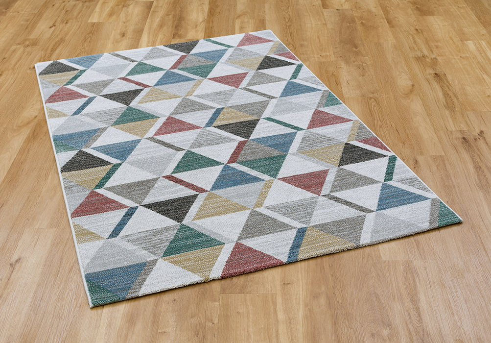 Multicolor checkered design Madison Rug-Modern Rug-Rugs Direct