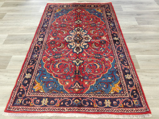 Persian Hand Knotted Sarouk Rug Size: 195 x 125cm