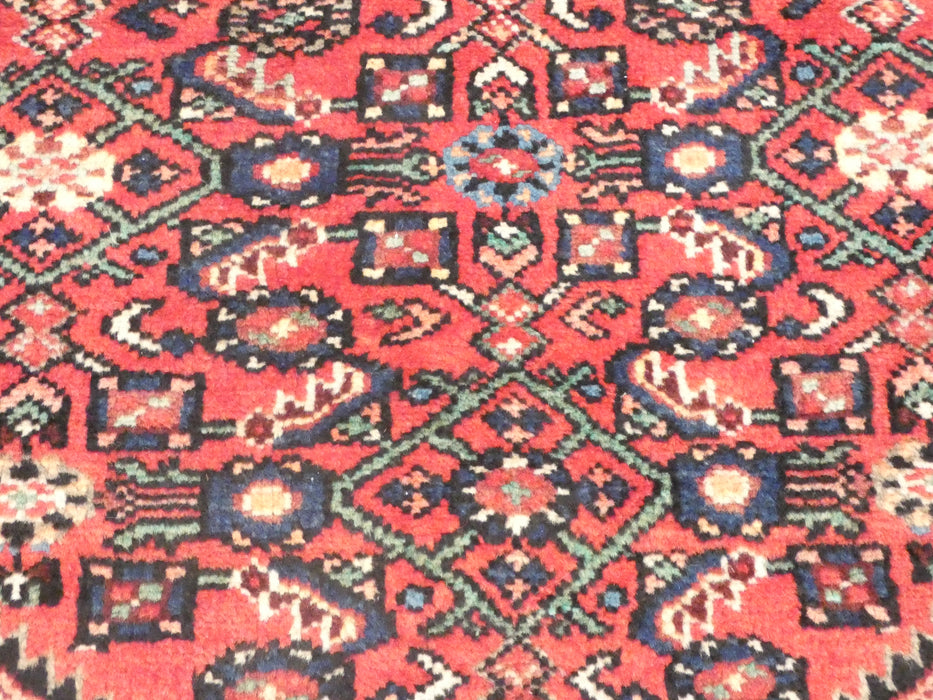Persian Hand Knotted Hossein Abad Hallway Runner Size: 285 x 70cm-Persian Runner-Rugs Direct