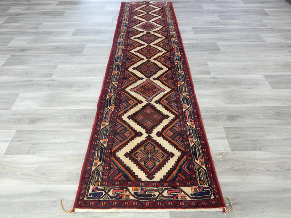 Persian Hand Knotted Koliai Hallway Runner Size: 305 x 80cm