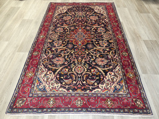 Persian Hand Knotted Sarouk Rug Size: 212 x 140cm