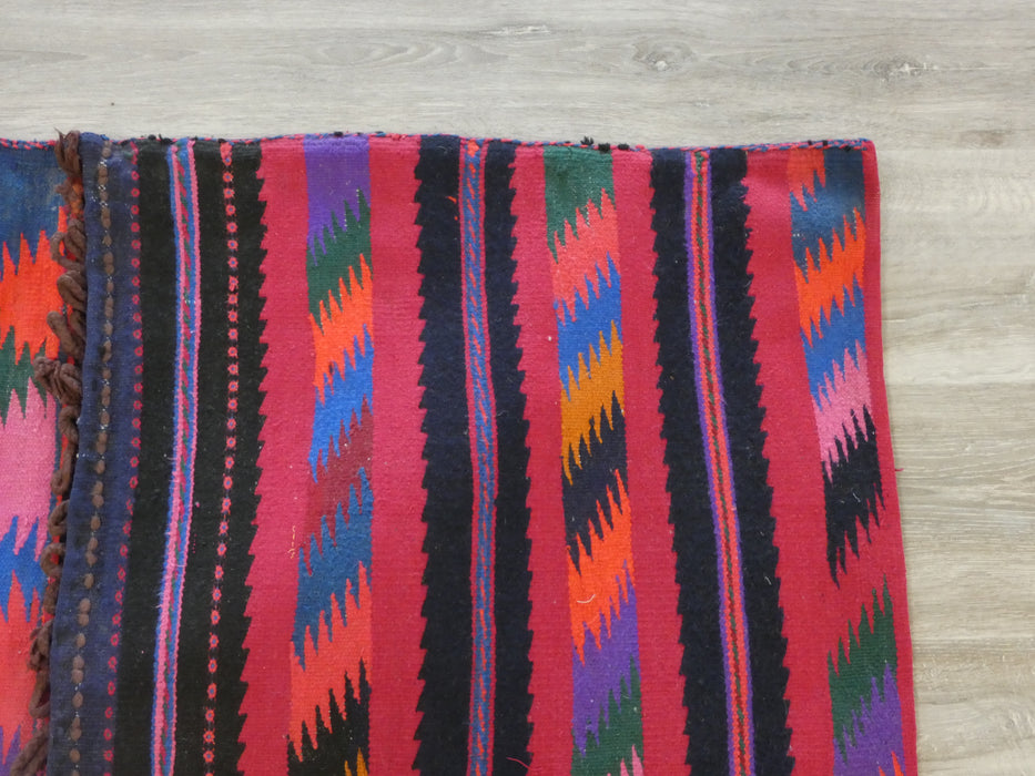 Vintage Nomadic Hand Made Saddle Bag-Unclassified-Rugs Direct