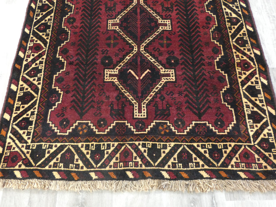 Persian Hand Knotted Shiraz Rug Size: 150 x 115 cm-Shiraz rug-Rugs Direct