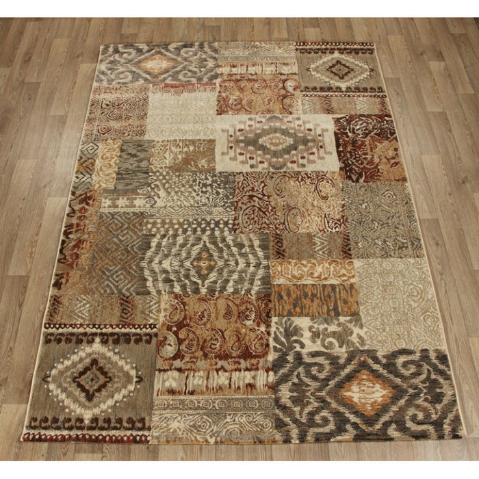 Patchwork Look Design Rug