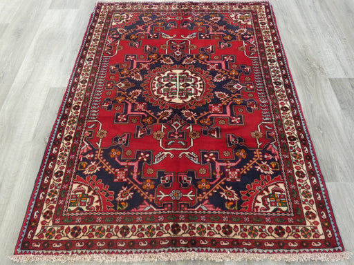 Persian Hand Knotted Tafresh Rug Size: 150 x 112cm