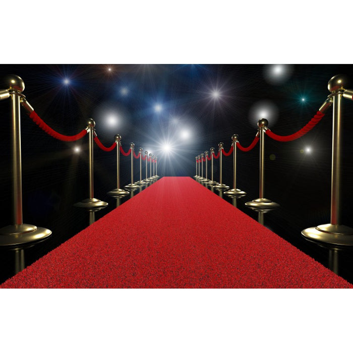 Non Slip Rubber Back Celebrity Red Carpet Runner 80cm Wide x Cut To Order!