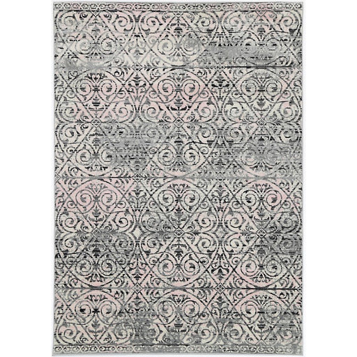Damask Design Turkish Rug