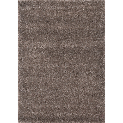 Chocolate Brown Shaggy Turkish Rug