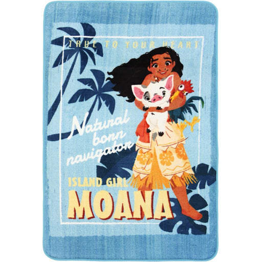 "Kids Mat ""Moana Island Girl "" Size: 100 x 150cm-Kids Rug-Rugs Direct"