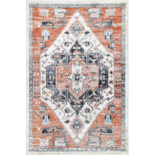 Faded Traditional Design Rug Size: 200x 290cm