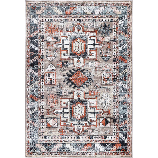 Faded Traditional Design Rug