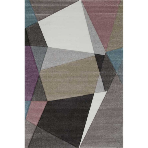 Abstract Multi Colour Rug