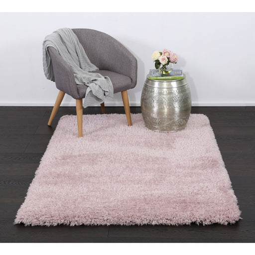 Light Pink Turkish Shaggy Rug