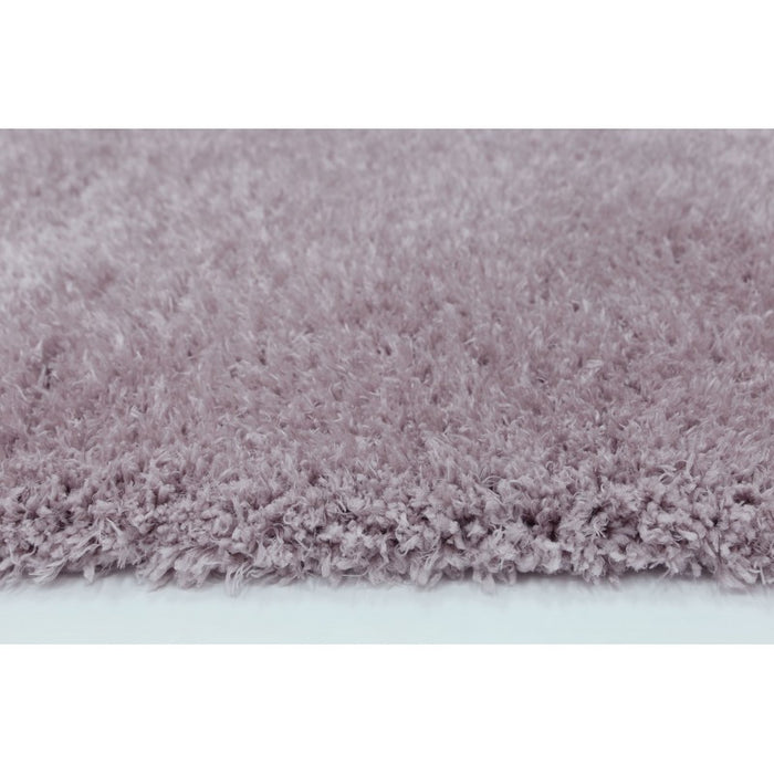 Light Pink Turkish Shaggy Rug-SHAGGY-Rugs Direct