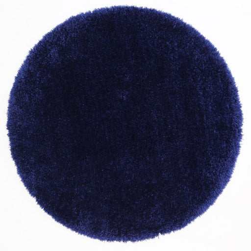 Navy Blue Turkish Shaggy Rug-SHAGGY-Rugs Direct