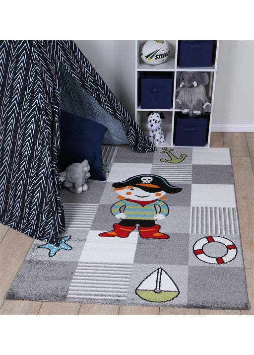 Pirate Design Kids Rug