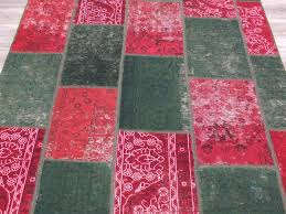 Overdyed Vintage Patchwork Rug Size: 170 x 240cm-Patchwork Rug-Rugs Direct