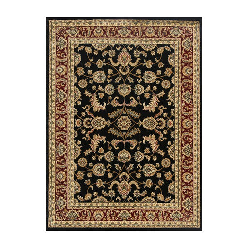 Black & Red Traditional Design Rug