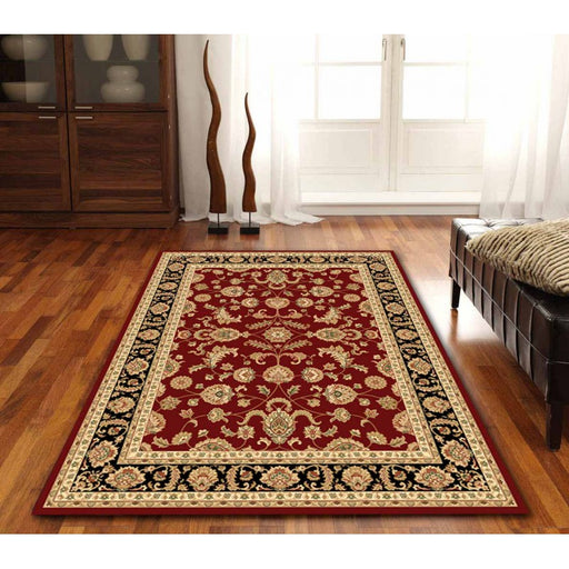 Royal Red Traditional Design Rug