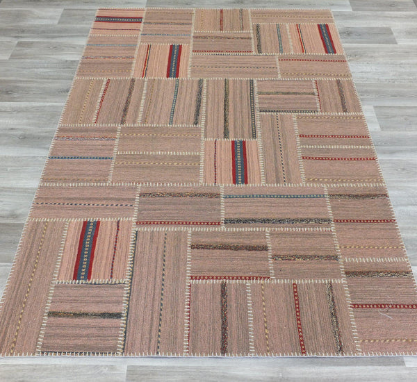 Brand New Patchwork Rug Size: 168 x 238cm