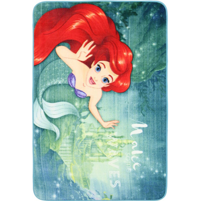 "Kids Mat ""The Little Mermaid"" Size: 100 x 150cm-Kids Rug-Rugs Direct"