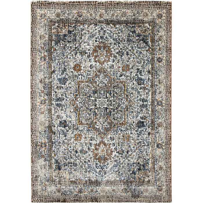 Roman Mosaic Traditional Design Rug-Modern Rug-Rugs Direct