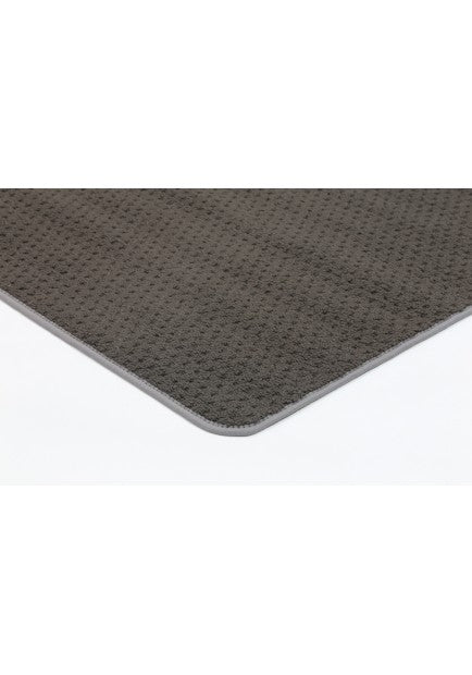 Pablo Dark Brown Non-Slip Rubber Back Rug-Rubber Back-Rugs Direct