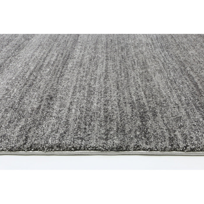 Grey Colour Plain Rug-Hallway Runner-Rugs Direct