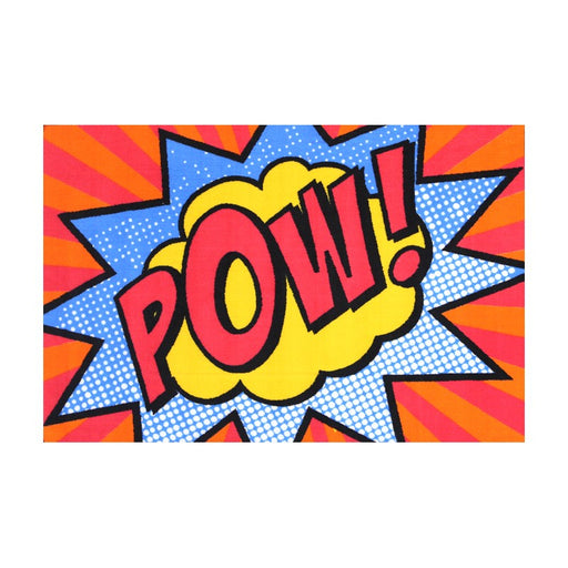 "Kids Mat ""Pow"" Size: 100 x 150cm-Kids Rug-Rugs Direct"