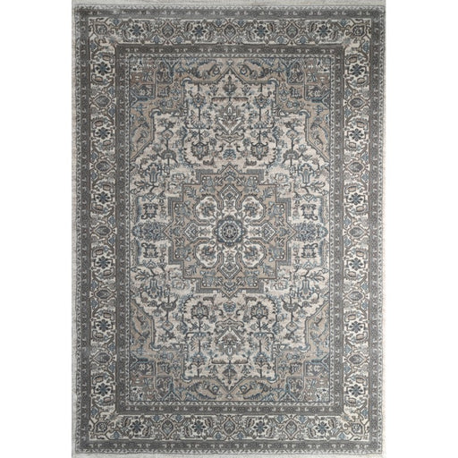 Muted Greys Traditional Turkish Rug-Traditional Design-Rugs Direct