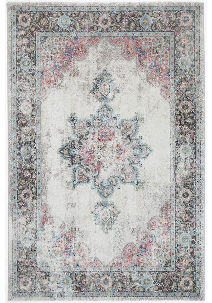 Washed Out Traditional Design Rug