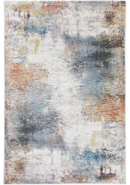 Washed Out Contemporary Design Rug