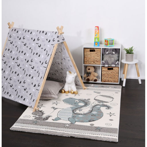 Gorgeous Dinosaur Kids Rug-Kids Rug-Rugs Direct