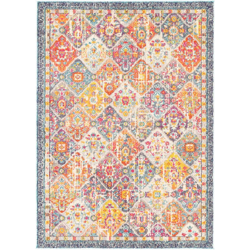 Multi-Coloured Traditional Style Rug