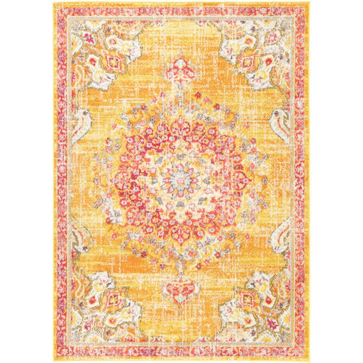 Traditional Distressed Style Rug Size: 200x 290cm