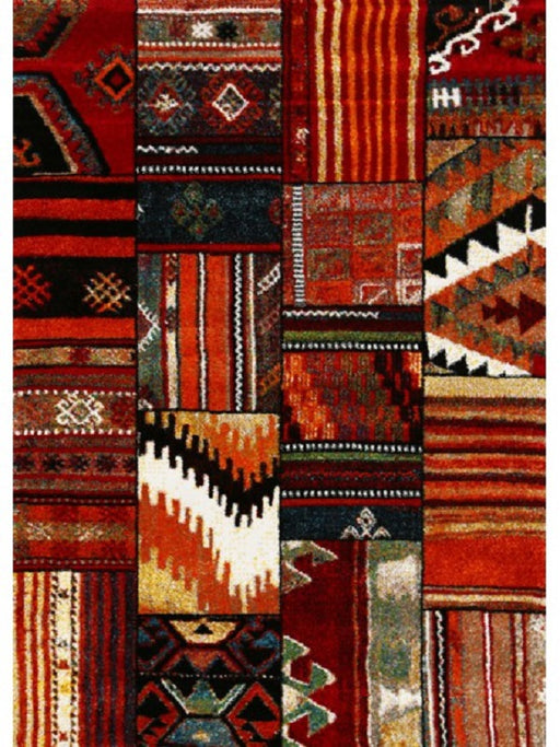 Patchwork Design Turkish Rug
