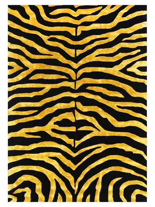 Zebra Wool & Bamboo Silk Hand Tufted Rug Size - 200x290cm-Bamboo Silk-Rugs Direct
