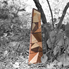 twoodie shard tower in gum trees and nature