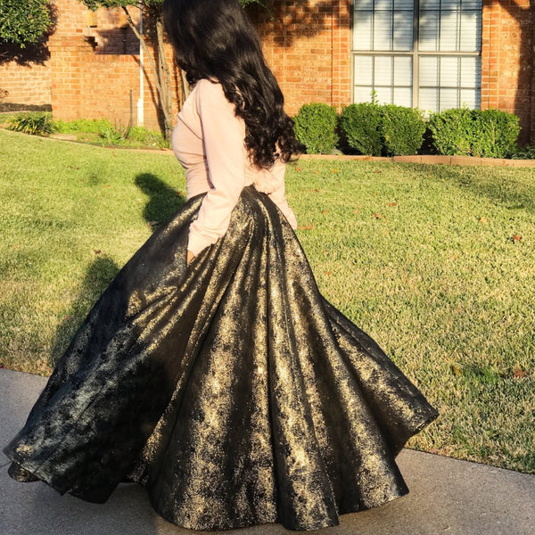 Audrey Circle Skirt - Tea Length