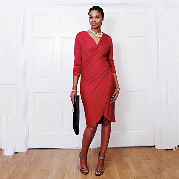 Shantelle Wrap Dress